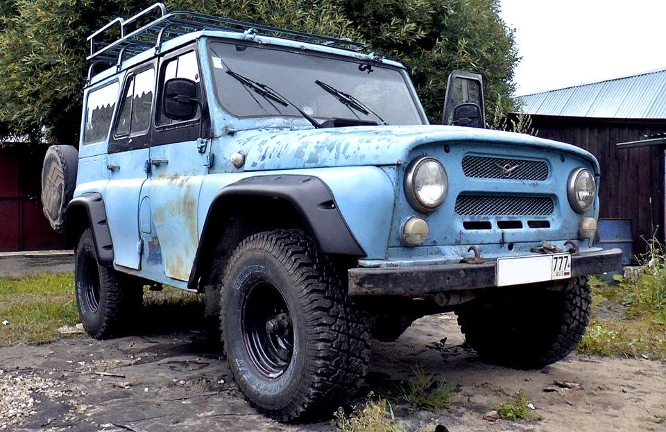 Установка Бушвакеров на УАЗ 469