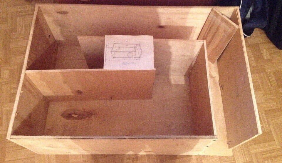 Короб для сабвуфера ваз 2114 в крыло своими руками