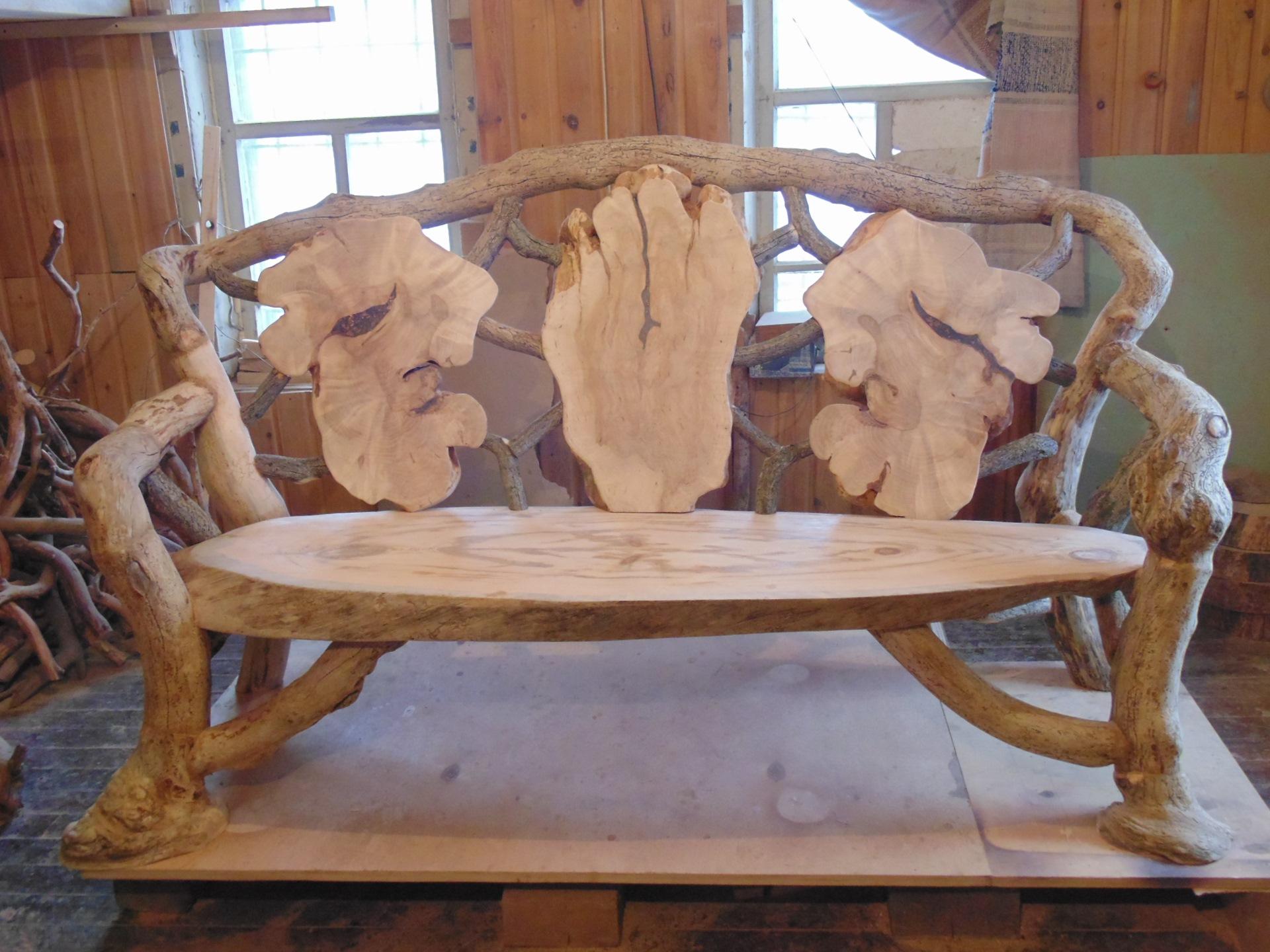 мебель из веток и коряг фото его донны розы