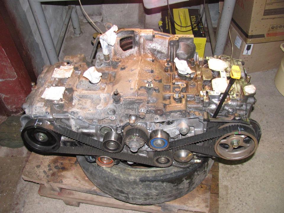 Ремонт двигателя субару форестер своими руками
