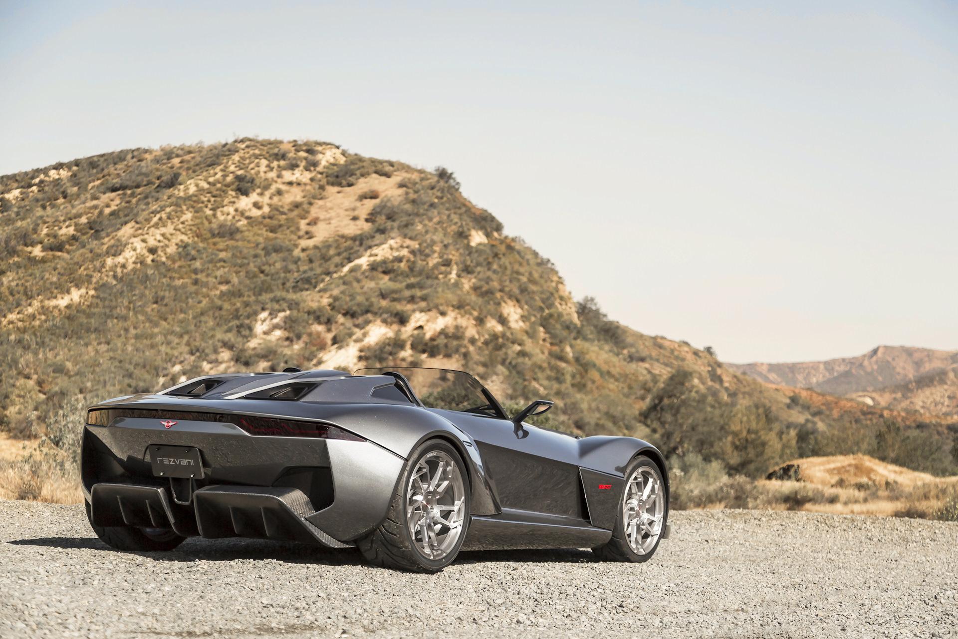 спортивный автомобиль серый rezvani motors загрузить