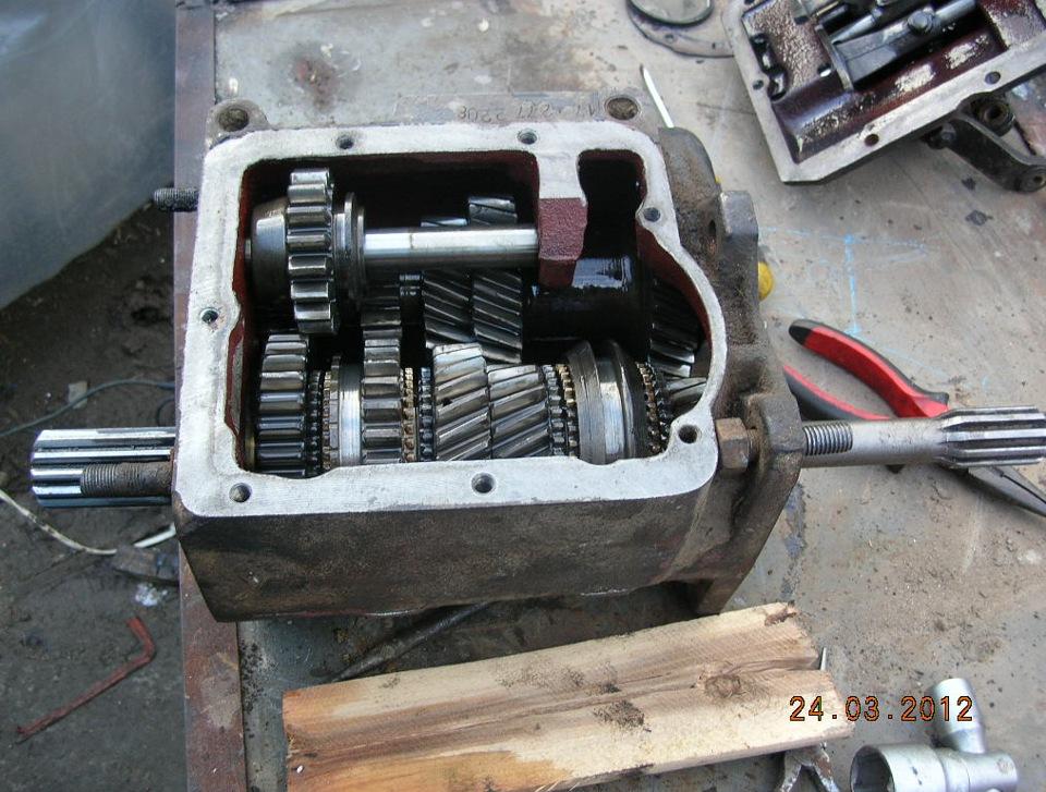Кпп уаз 469 ремонт своими руками фото