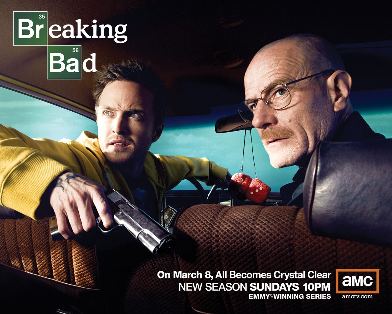 breaking bad seasons - HD 1280×1024