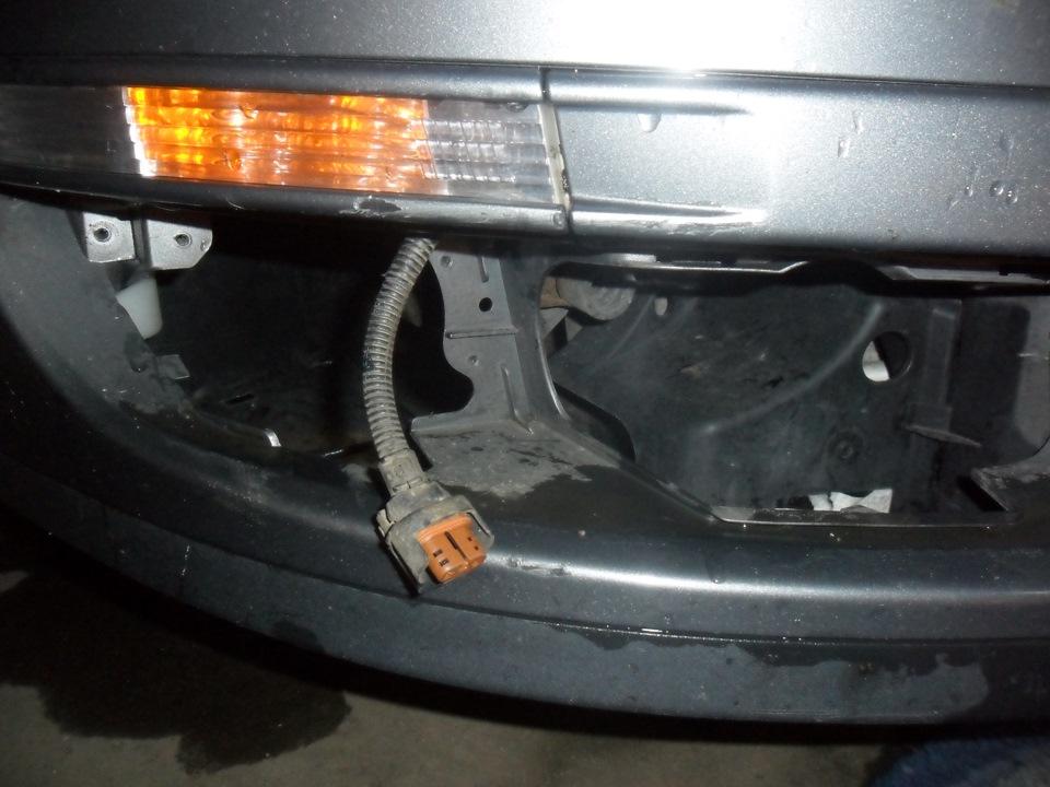 как подключить птф на volkswagen passat b6