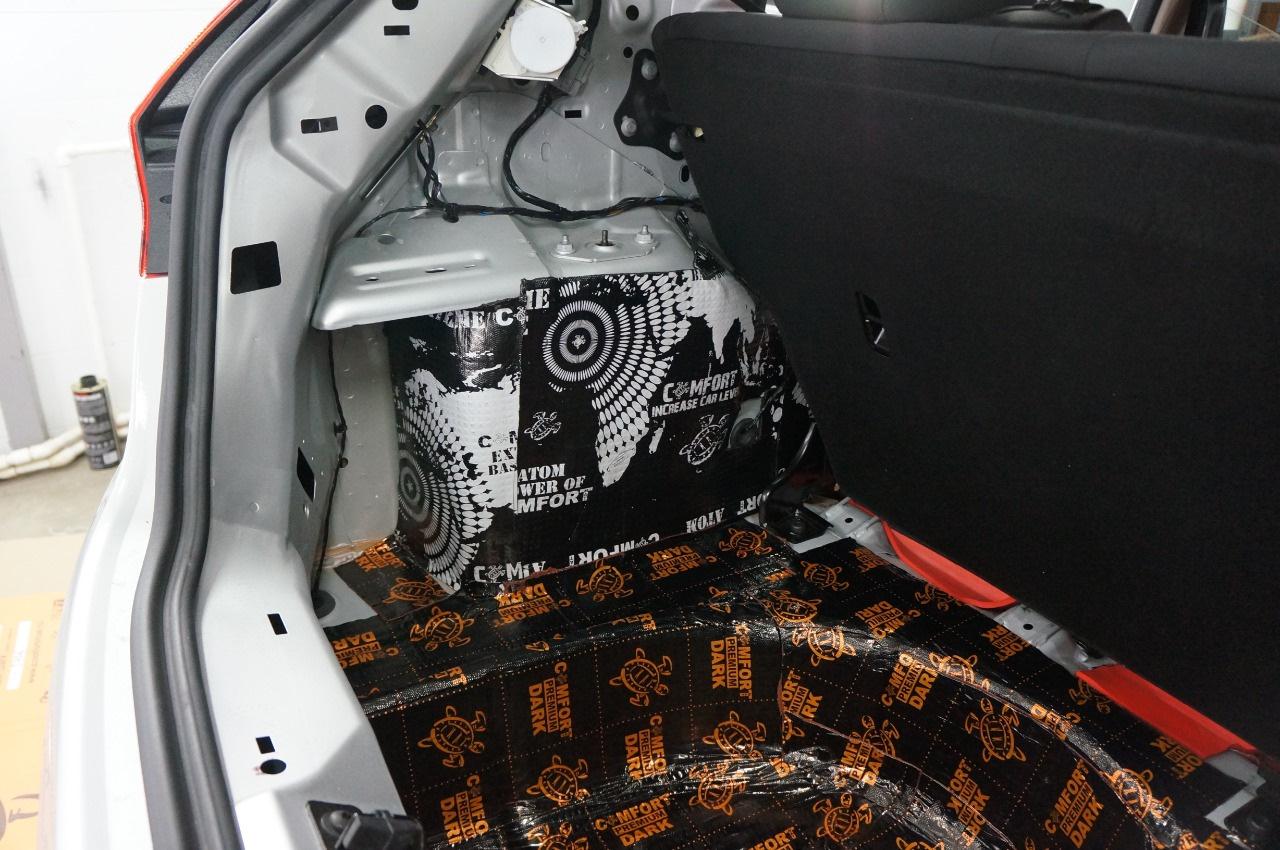 Шумоизоляция авто фотоотчет
