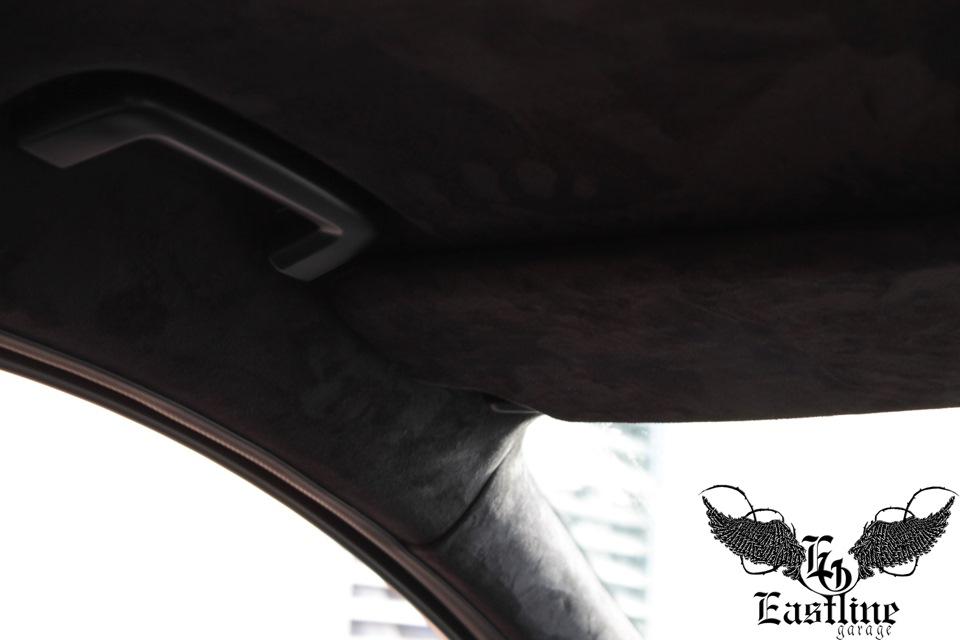 перетяжка потолка в ford focus 3
