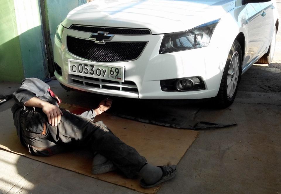 Chevrolet cruze юбка