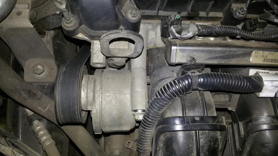 Замена термостата форд фокус 2 16 своими руками