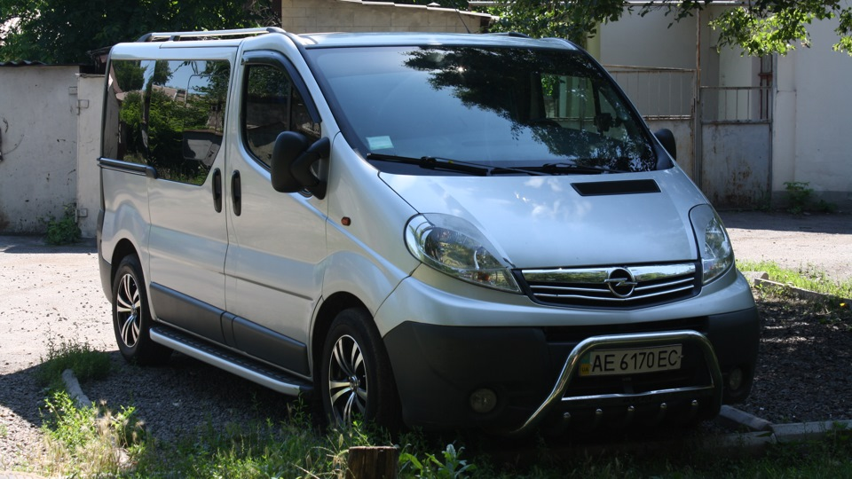 Error codes for Opel Vivaro (for me) — logbook Opel Vivaro
