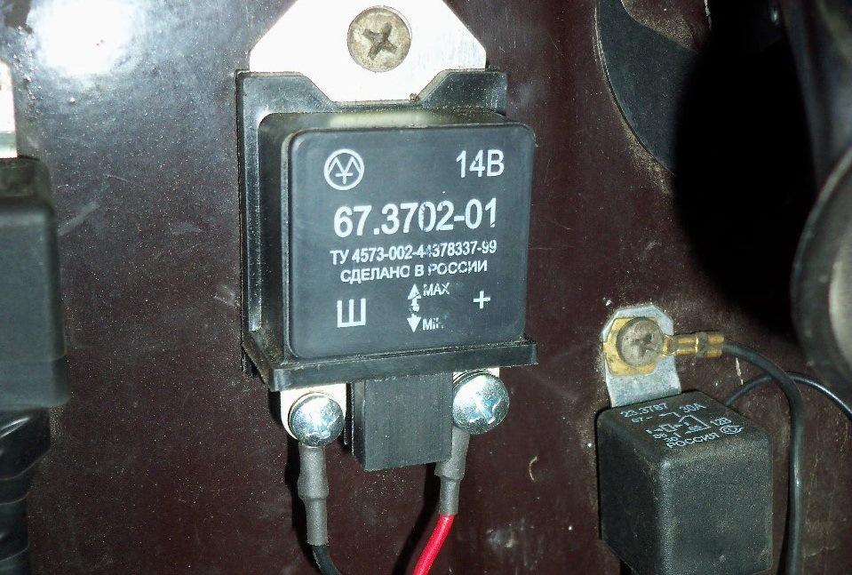 1a27db4s 960 - Схема подключения реле зарядки на ваз 2106