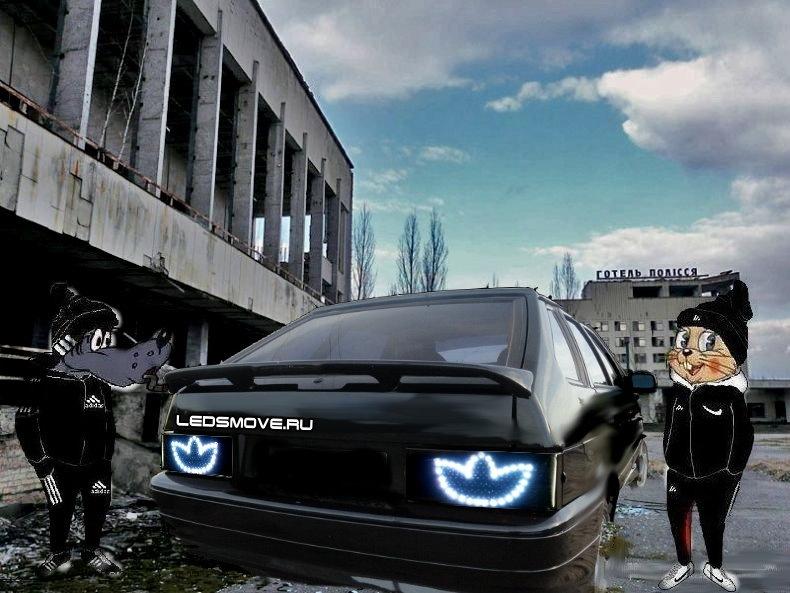 Картинки машины в адидас
