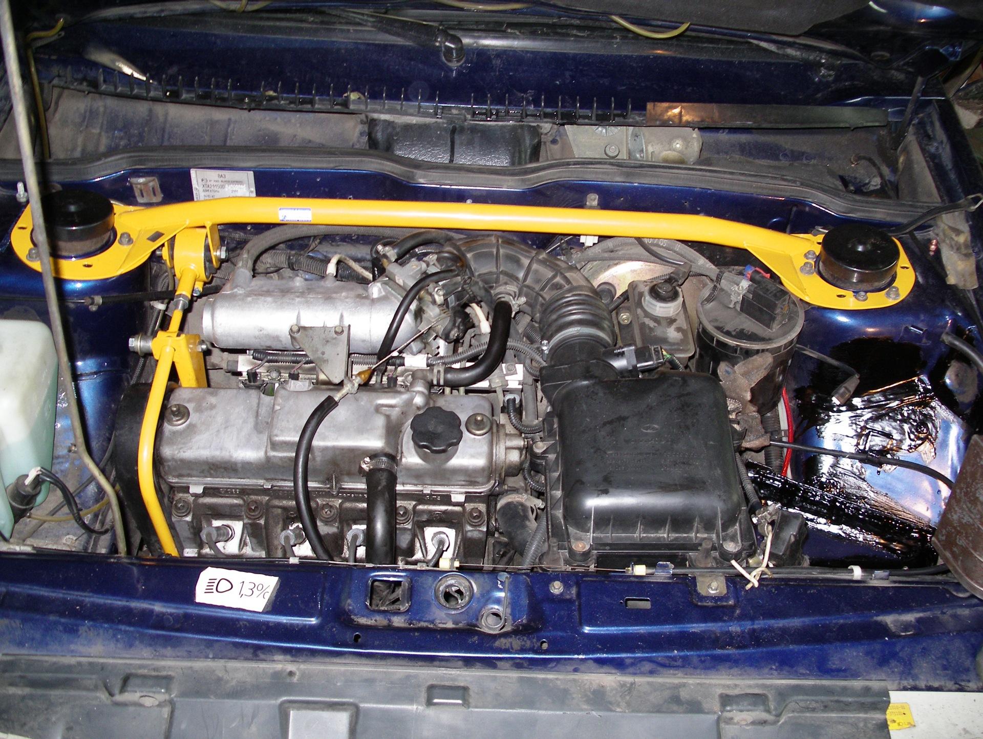 Ваз 2115 ремонт двигателя