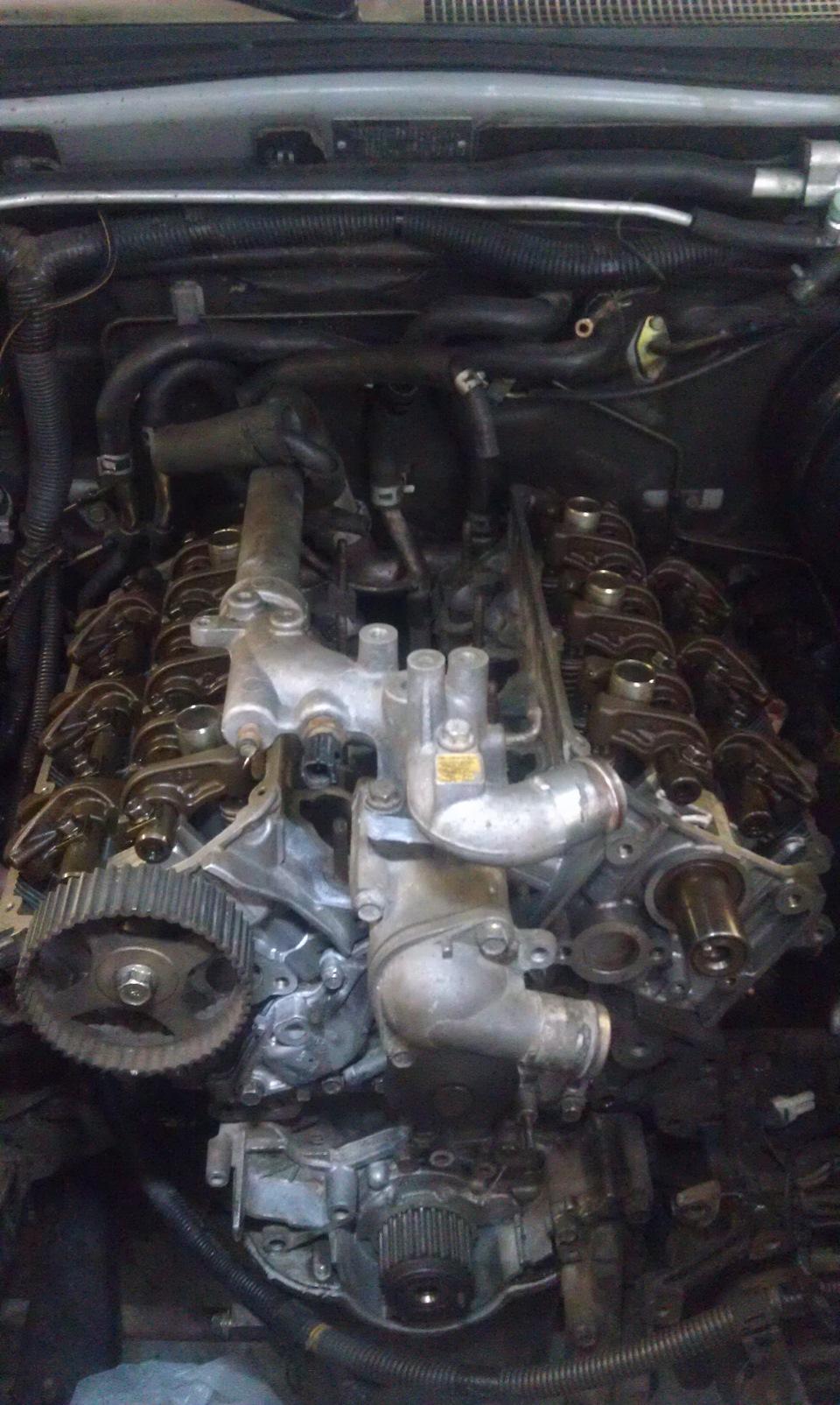 инструкция замена свечей двигатель 6g72