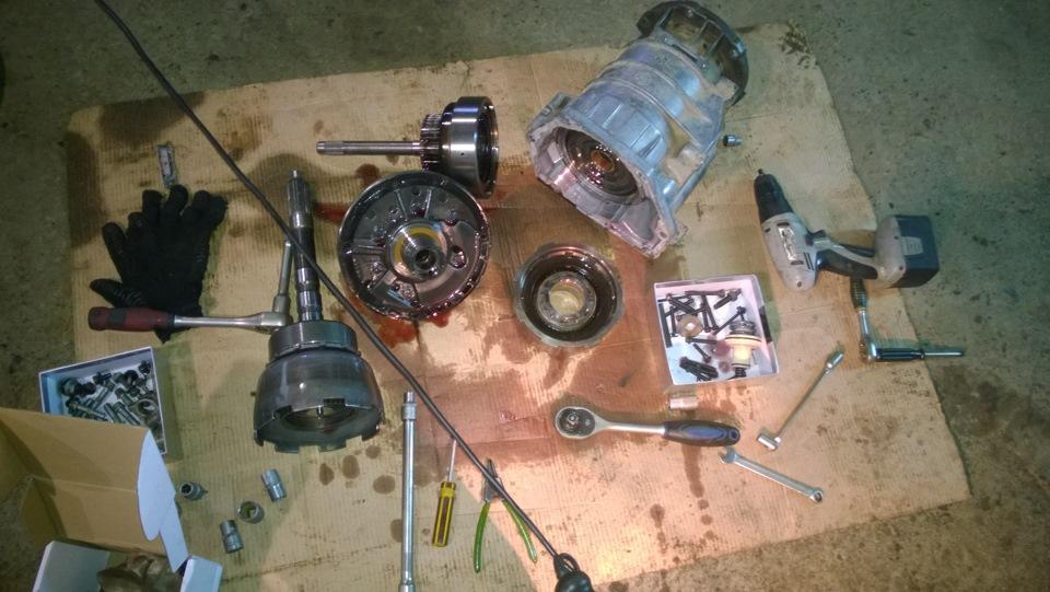 Промыть гидротрансформатор 75