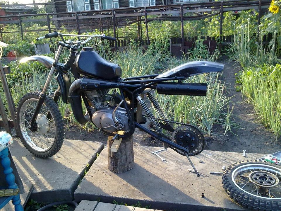 Мотоциклы эндуро своими руками 32