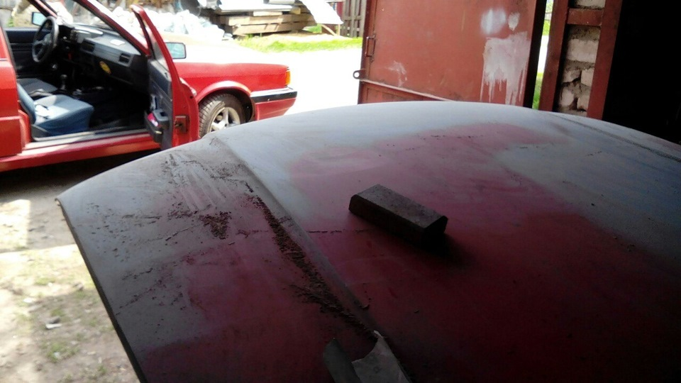 Шпаклевка покраска авто своими руками в гараже 21