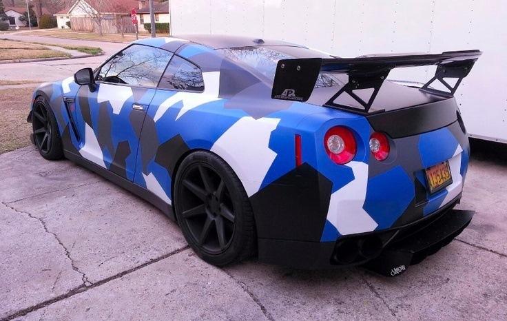 Окраска авто в камуфляж