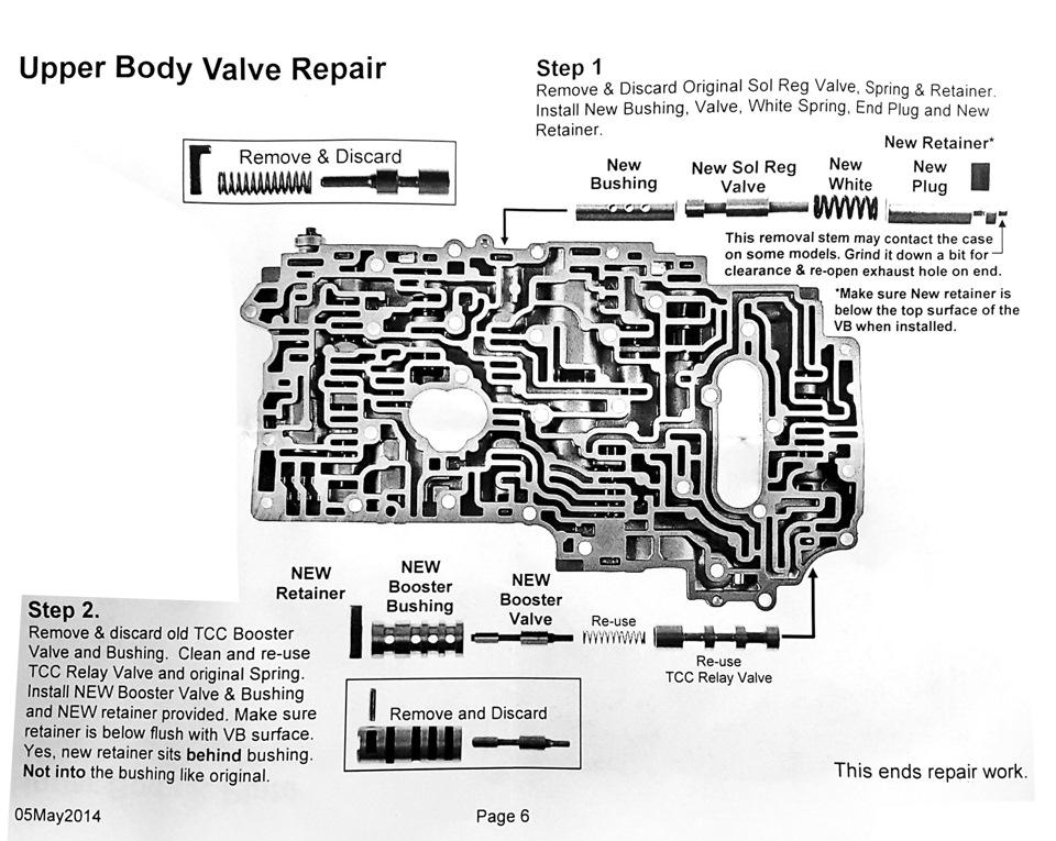 toyota a340e transmission valve body diagram wiring diagram for rh lomond tw