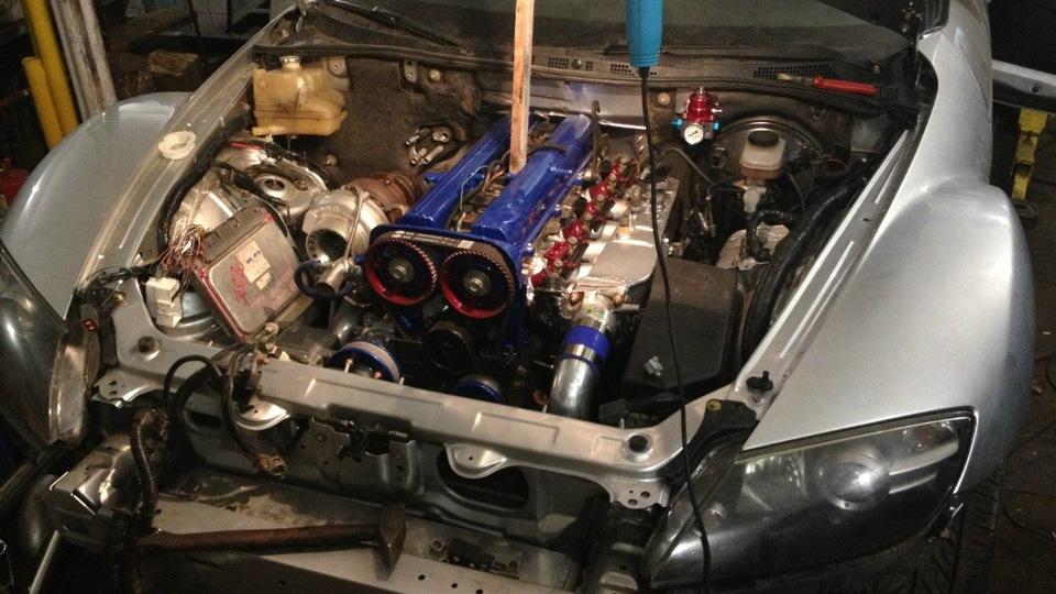 mazda rx 8 с двигателем от
