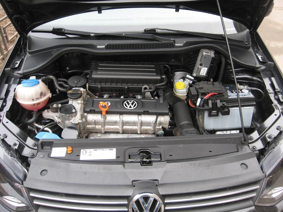 мойка двигателя фольксваген поло седан