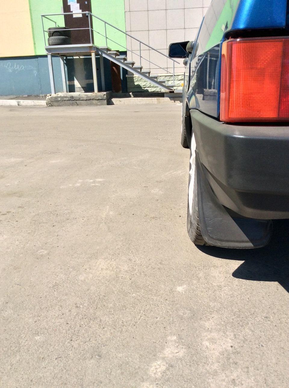 Как сделать отрицательный развал на задние колеса 2109