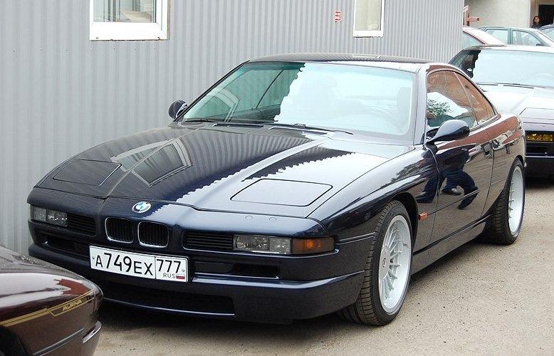 Прекрасная 850 с 5,7-литровым двигателем Alpina под капотом