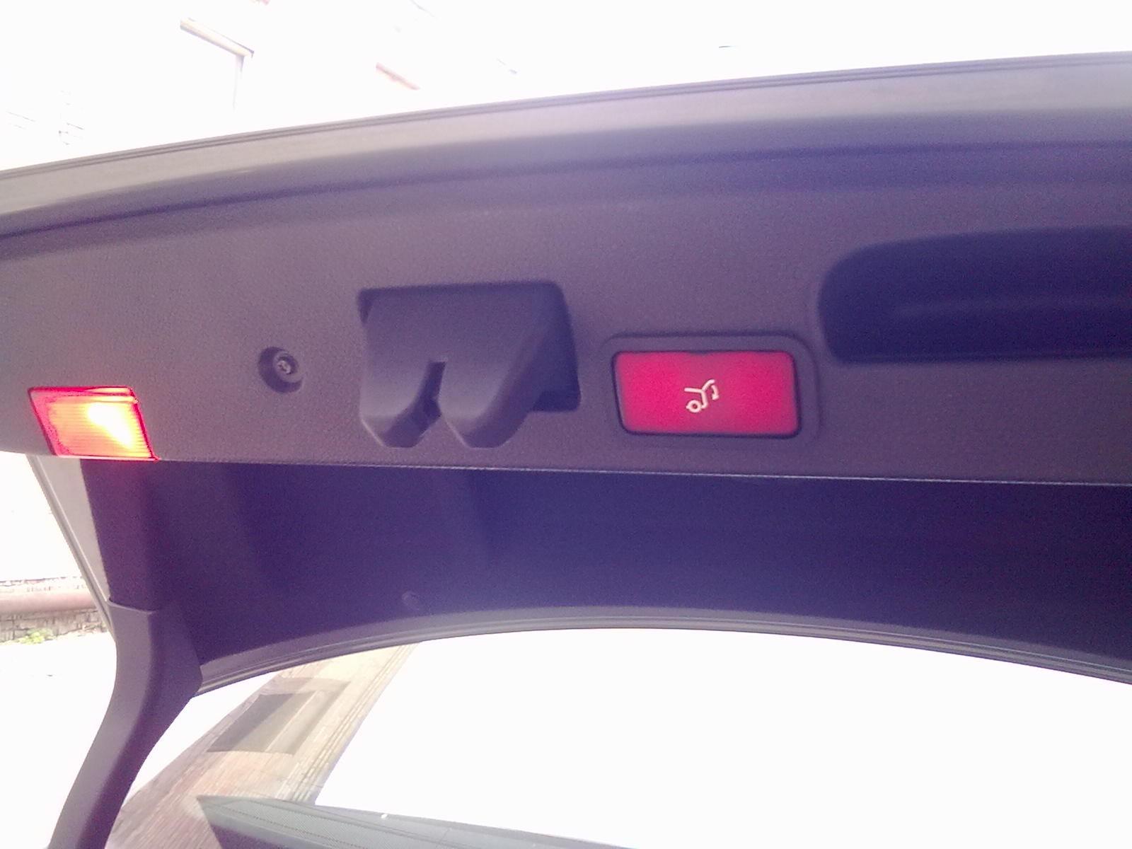 Автоматическое открытие багажника своими руками