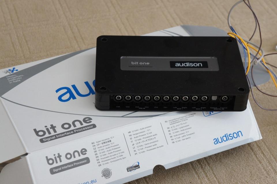 установка audison bit one