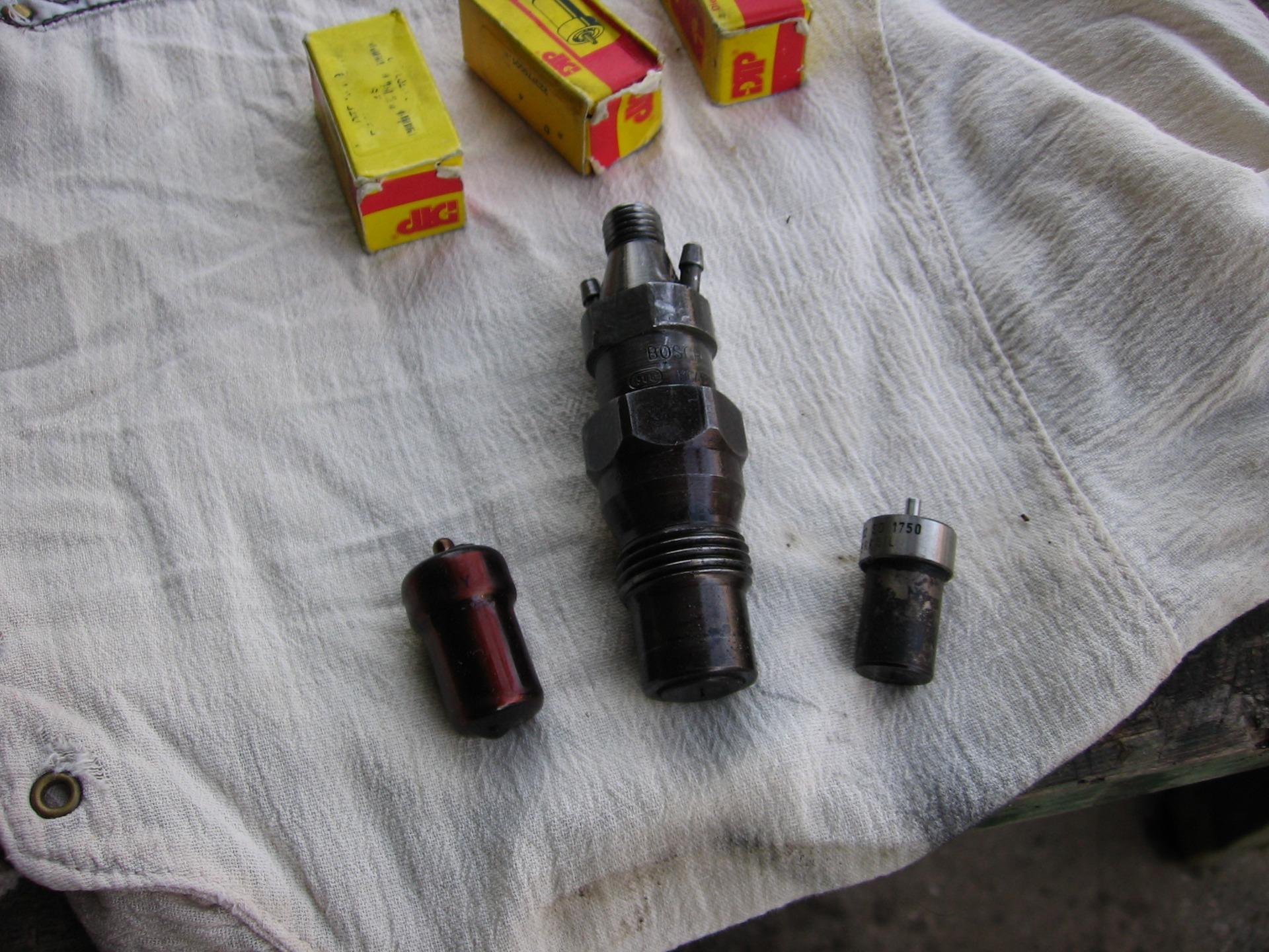 Замена распылителя дизельной форсунки своими руками 47