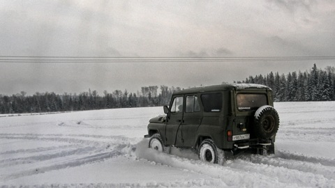 УАЗ 469 Солдат. Драйв.