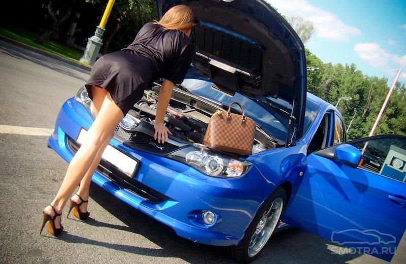Картинки фото девушки в машине