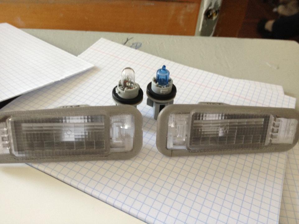 Замены лампы kia rio
