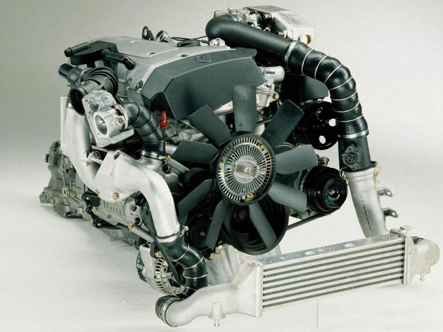 моторы для мерседес