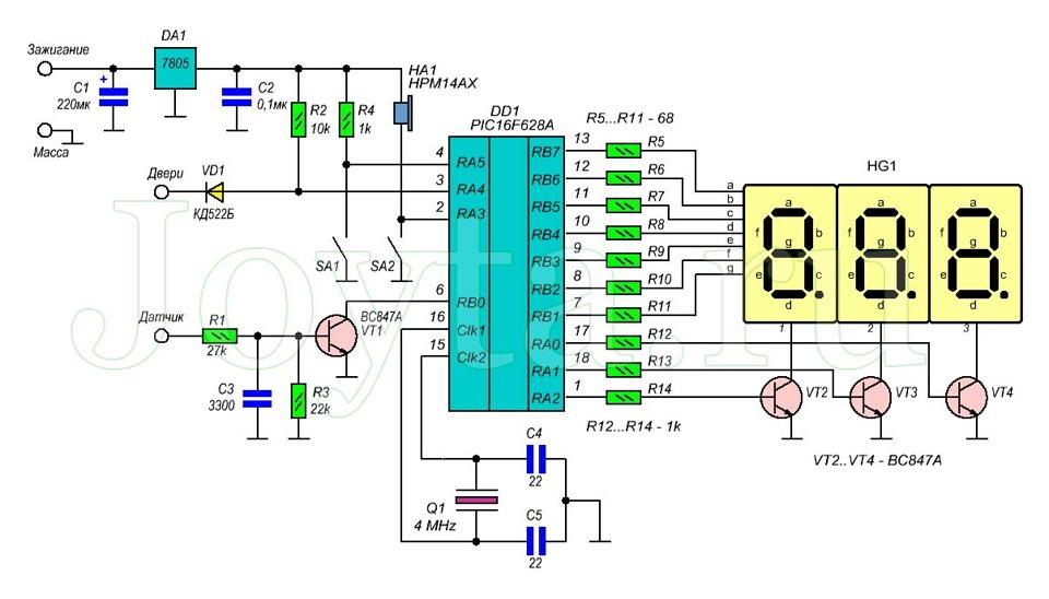 Как сделать на микроконтроллере
