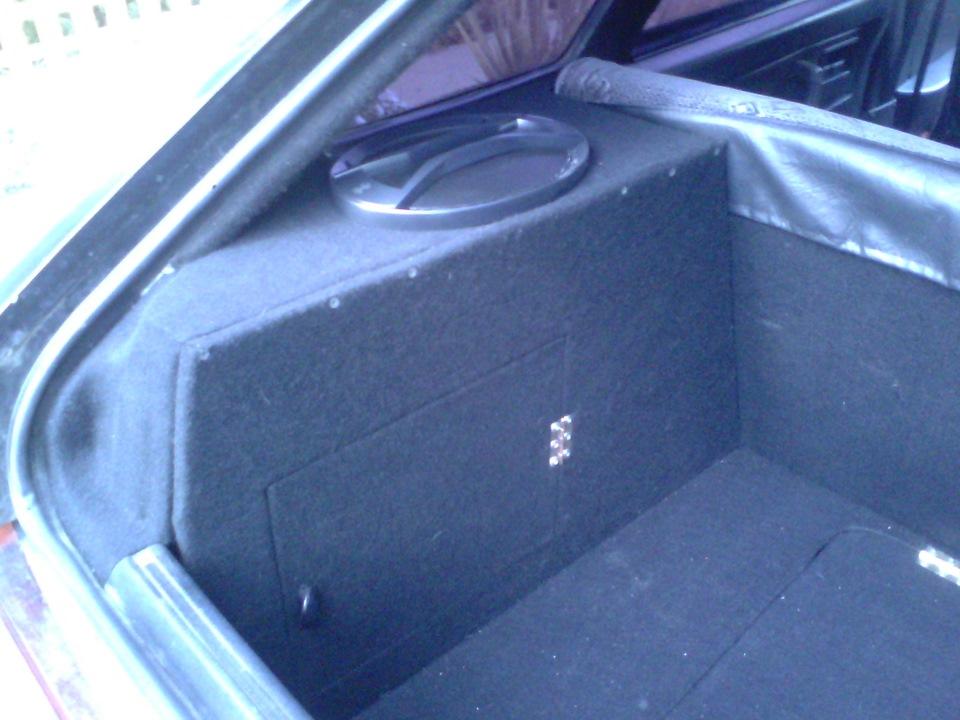 Как сделать багажник на ваз 2109 от кнопки 643