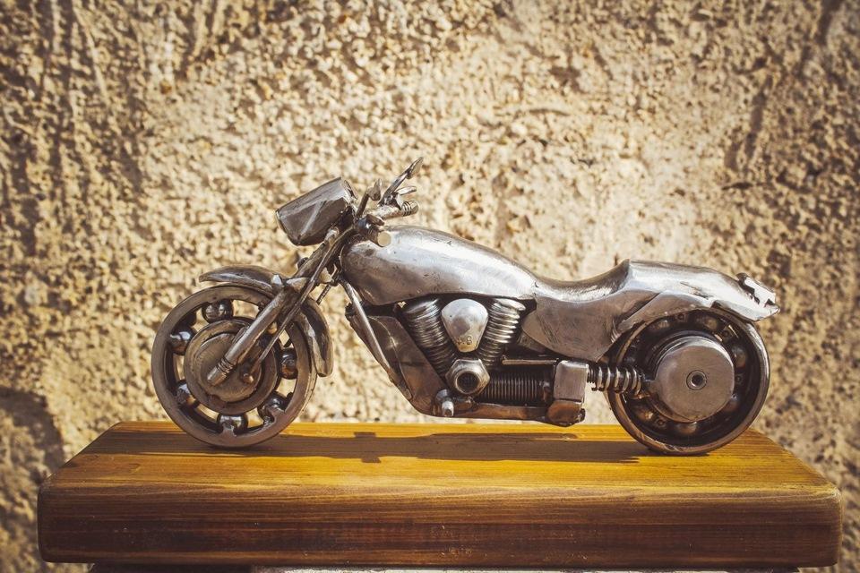 модели мотоциклов фото из подшипников самодельные как большинство