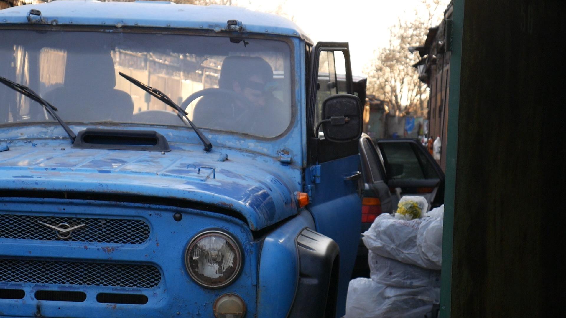Оживление УАЗика после зимы