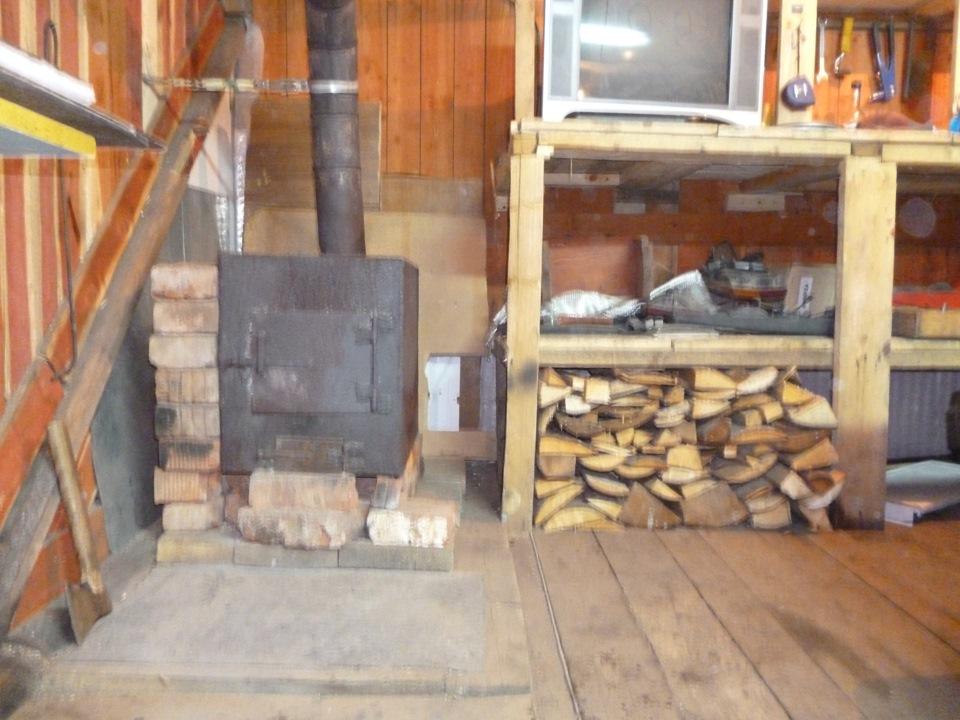всего печь из кирпича в гараже фото лозой часто используется