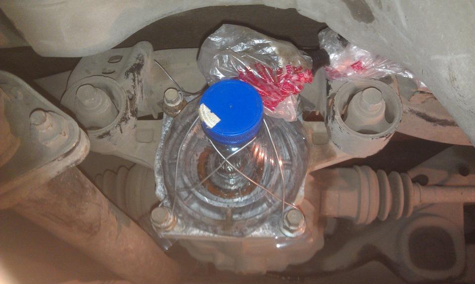 ремонт муфты полного привода Kia Sorento