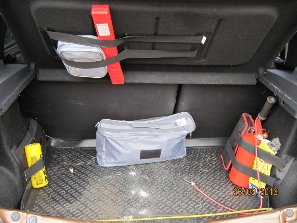 Органайзер в багажник рено логан своими руками 40