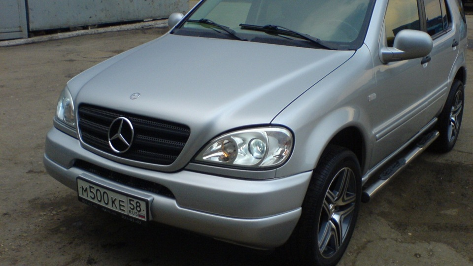 Mercedes benz m class silver star 3 2 v6 drive2 for Mercedes benz silver star
