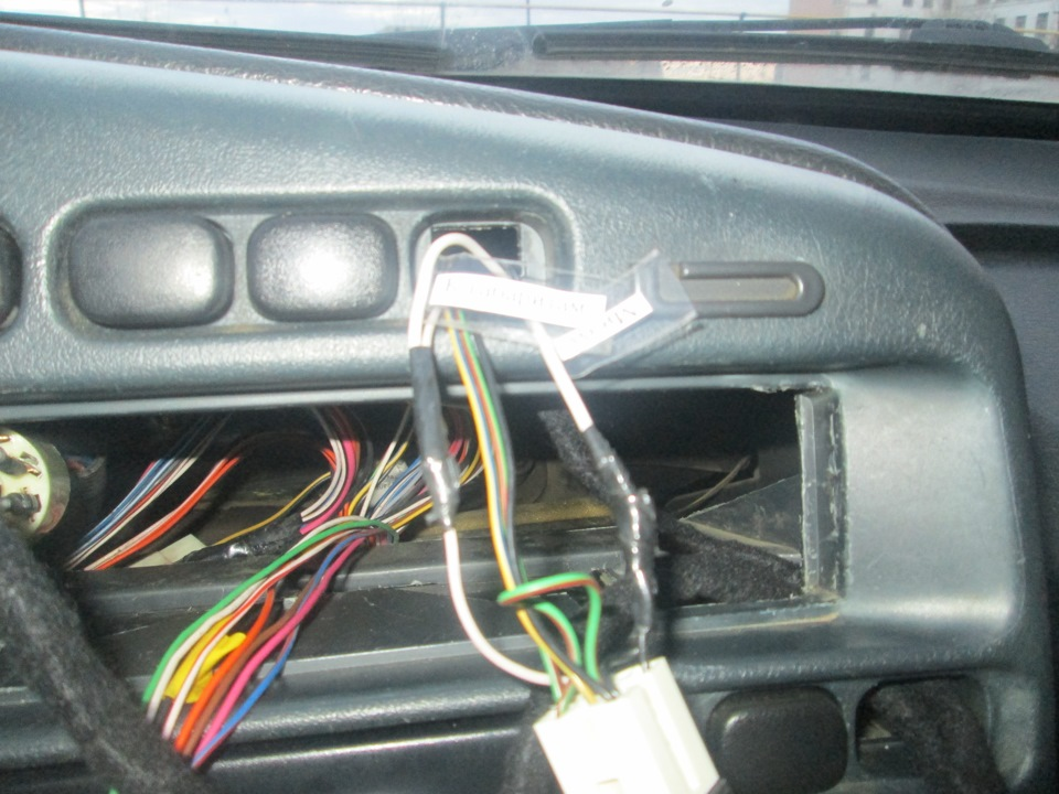 Adapter emergency gang VAZ 2108-2115 Euro emergency gang - logbook Lada 2114 Карлсон 16v 2006 on DRIVE2