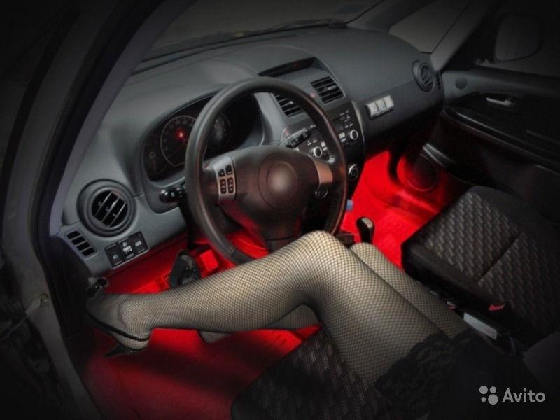 Светодиодная лента в салон авто своими руками