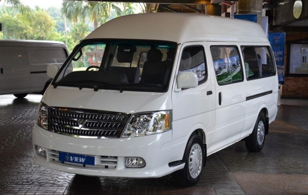 Все про китайский микроавтобус фотон