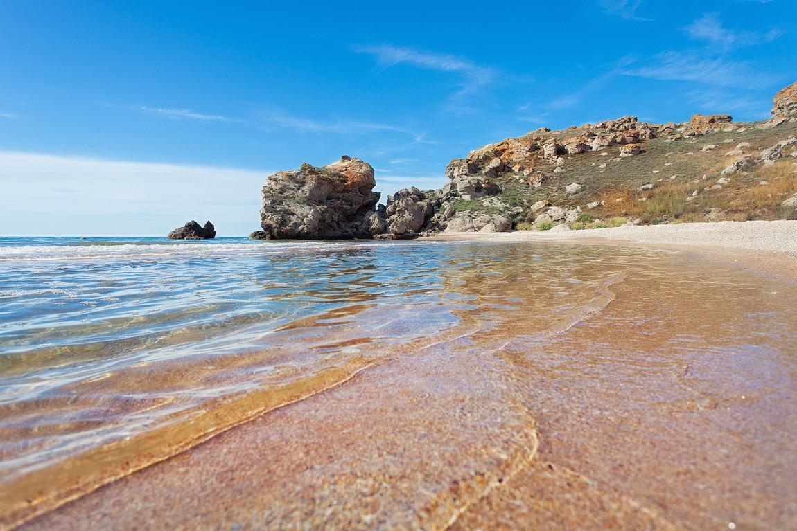Самые красивые пляжи крыма фото с описанием