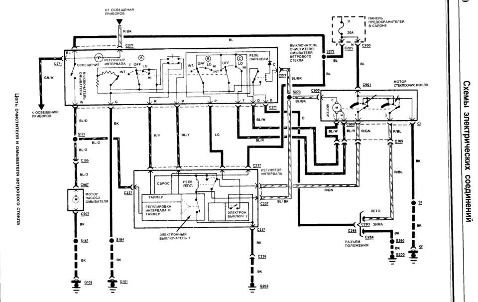 схема дворников