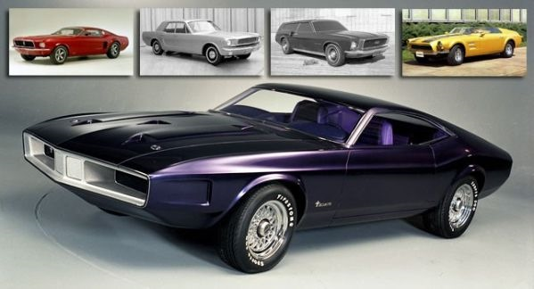 mustang mach 1 1966года концепт кар