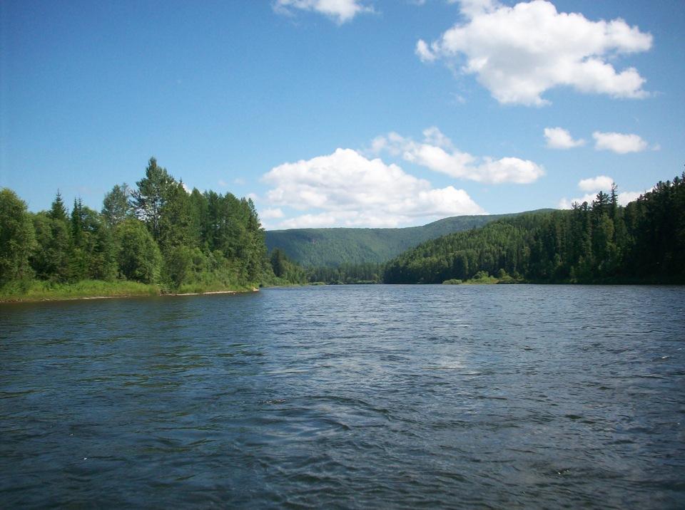 Река Агул закрыта
