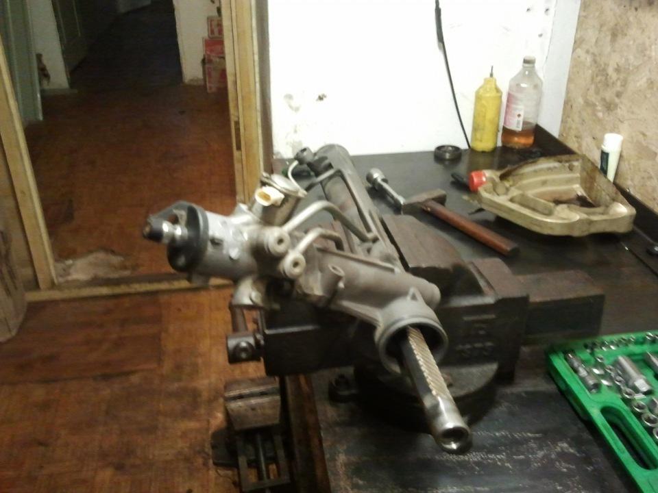 Отчет здесь: ремонт рулевой