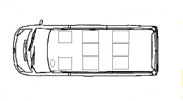 схема расположения сидений в